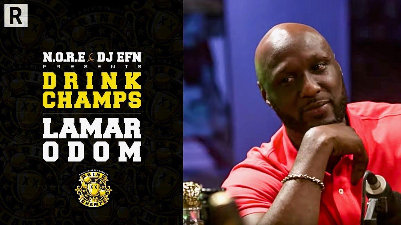 Lamar Odom Talks Kobe Bryant, Khloe Kardashian, The LA Lakers, Clippers & More   Drink Champs