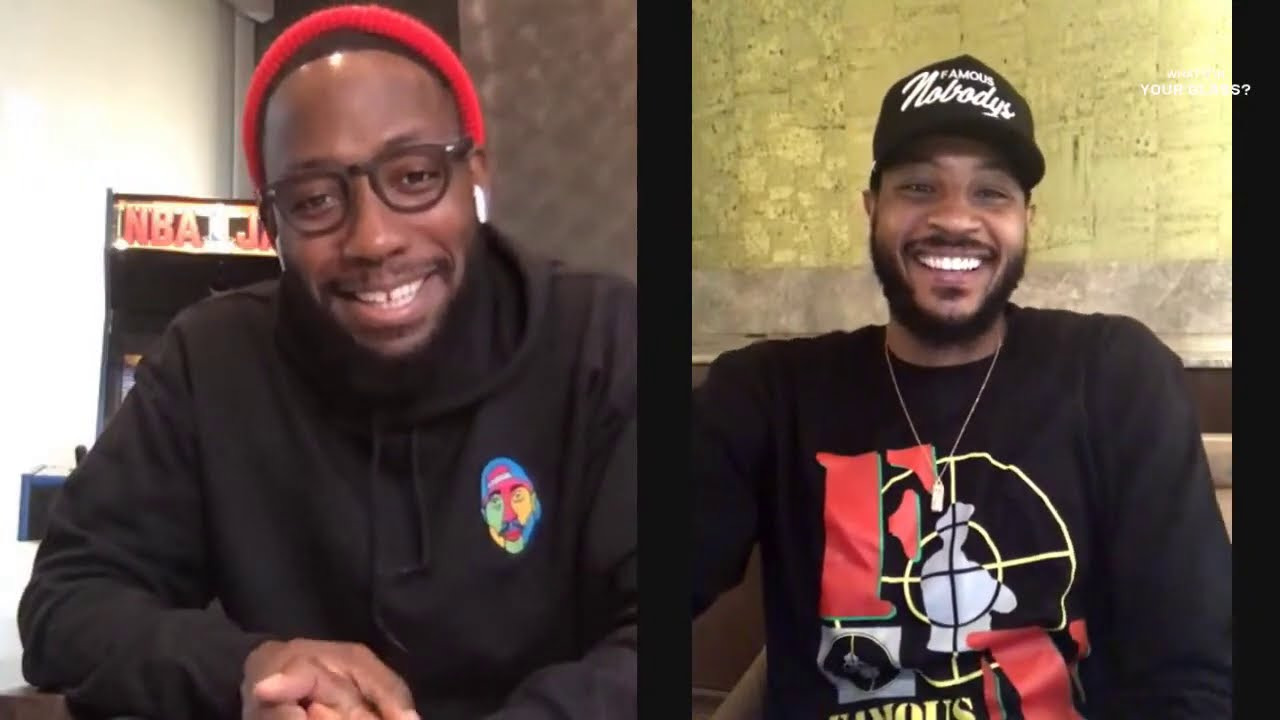 Lamorne Morris | What's In Your Glass? | Carmelo Anthony