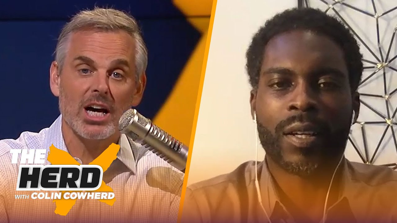 Michael Vick on greatness of Russell Wilson, Dak's injury & future for Cowboys | NFL | THE HERD