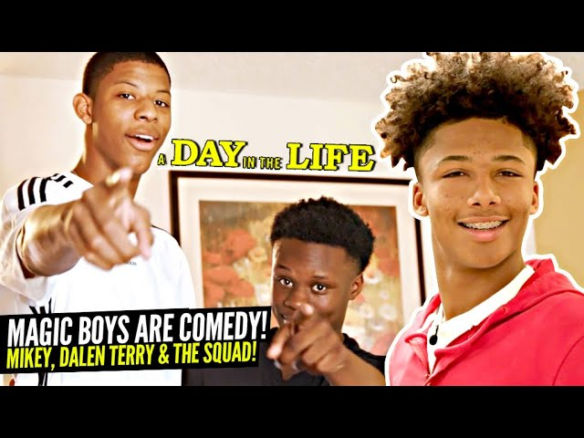 Mikey Williams Talks Trash To LaMelo Ball via Facetime!! 😂 Compton Magic HILARIOUS Day In the Life!