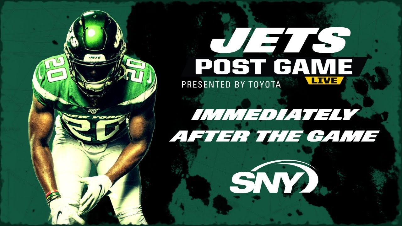 New York Jets Post Game Live | 9.27.20 | New York Jets | SNY