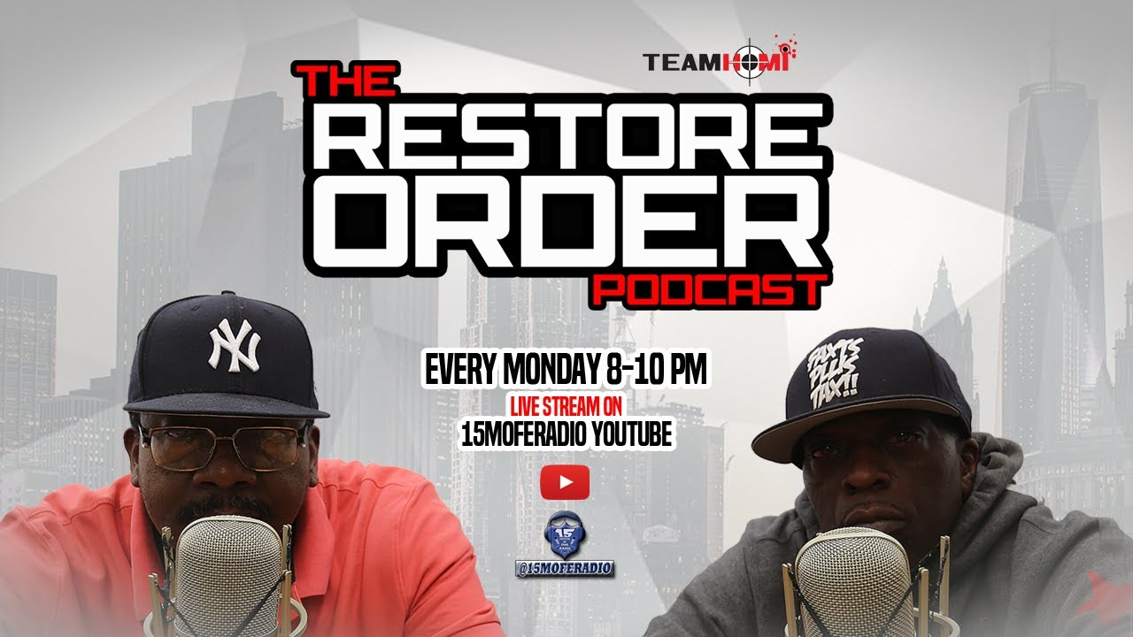 RESTORE ORDER PODCAST W AVOCADO AND REAL SIKH