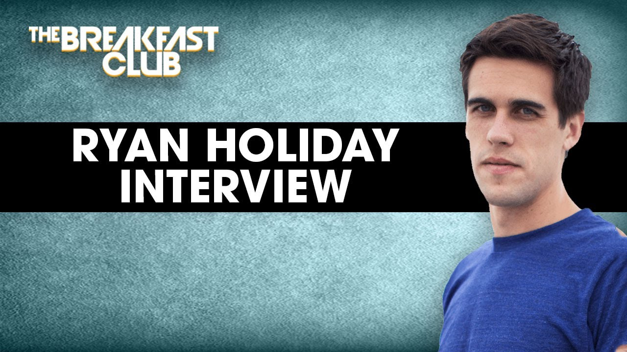 Ryan Holiday On Resilience, Stoicism & Controlling How You Respond To The World Around You