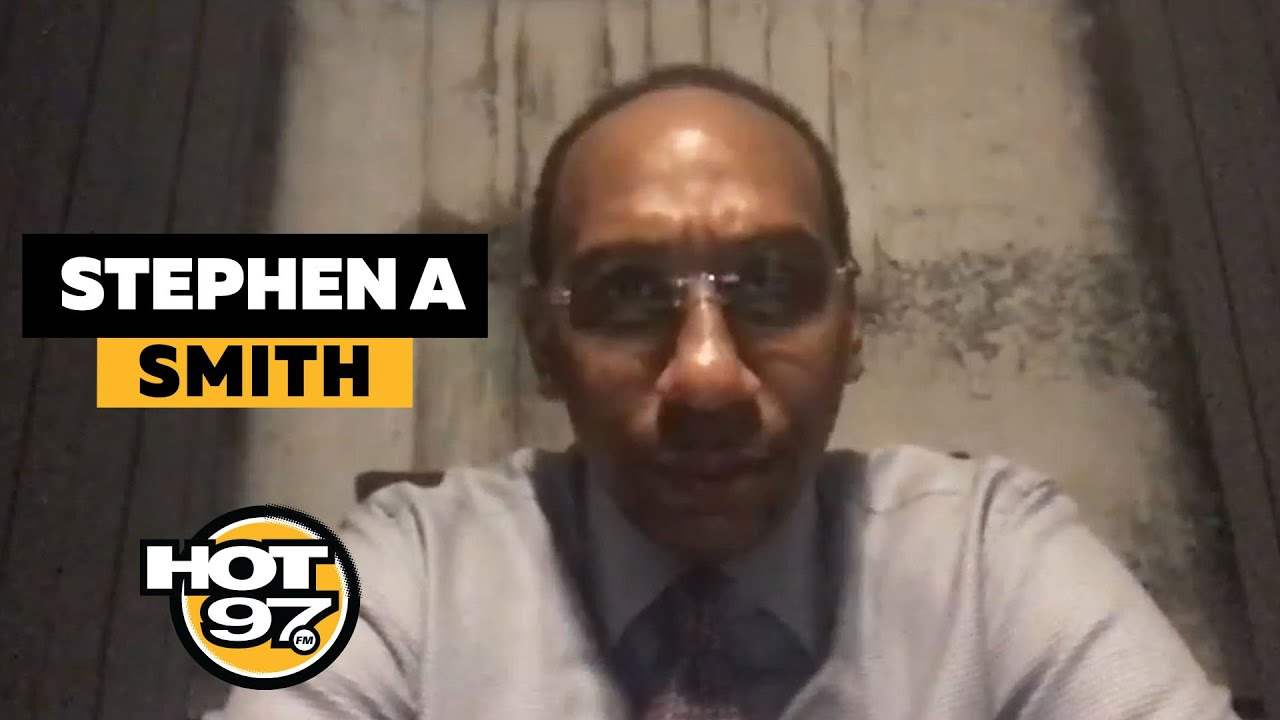 Stephen A. Smith Says 'Hell No' LeBron Is Not The GOAT, Talks Jordan Comparisons + 'Sorry' Cowboys