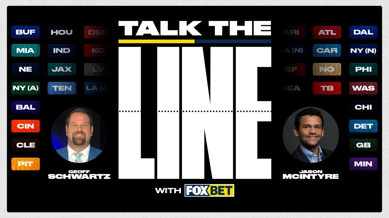 """Talk the Line"" with FOX Bet! Week 2 Pro Football Picks Show 