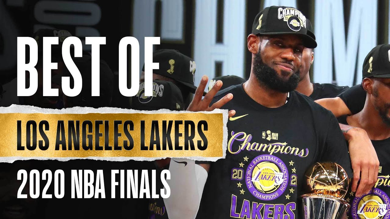 The BEST Of the Lakers From The 2020 #NBAFinals 🏆