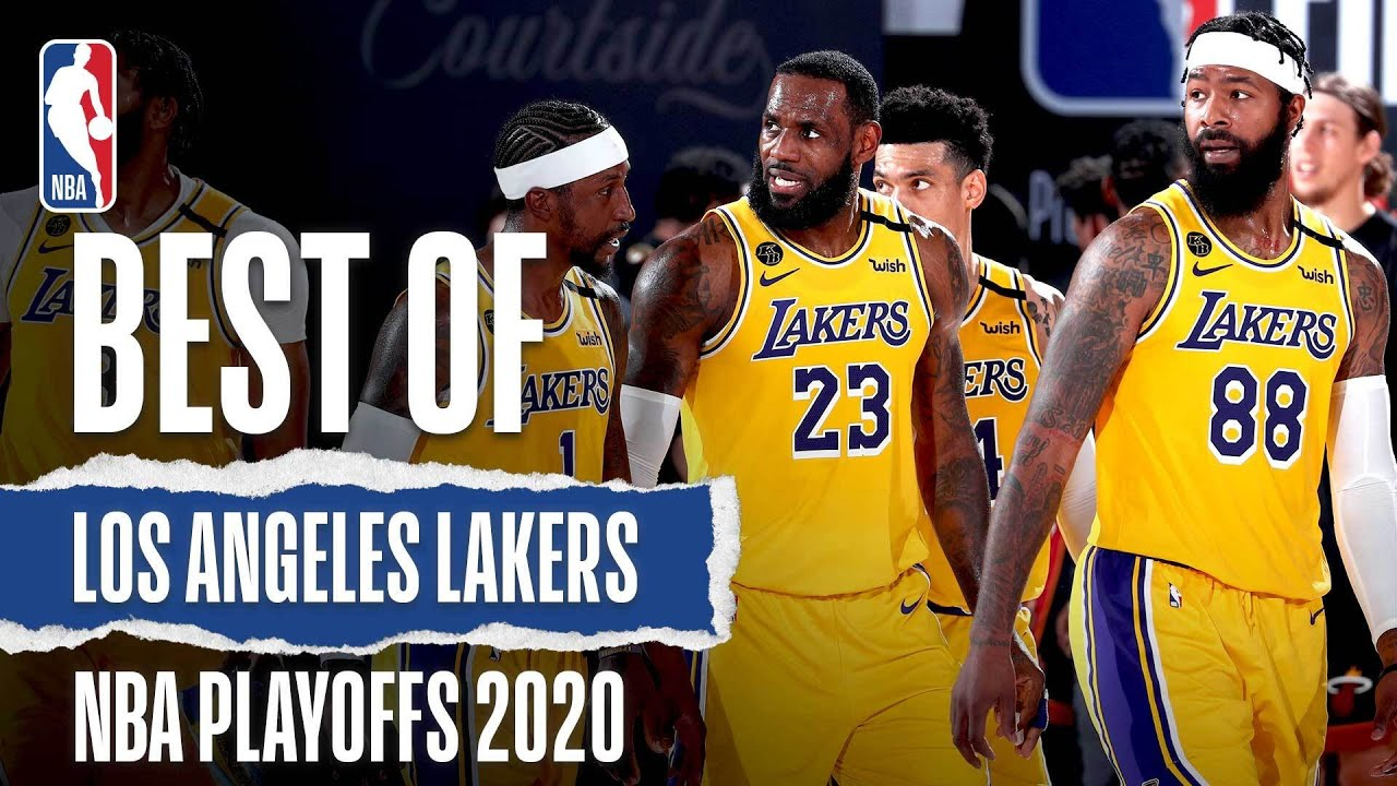The Lakers' Best Plays From The 2020 #NBAPlayoffs 🏆