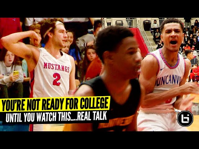 """There Are No Breaks In College"" 100% Real Talk w/ Gonzaga Drew Timme & Texas Tech Micah Peavy"