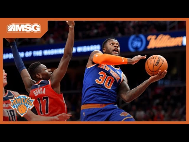 Wally Wall: How Julius Randle is Adding New Dimension To Knicks Offense | New York Knicks