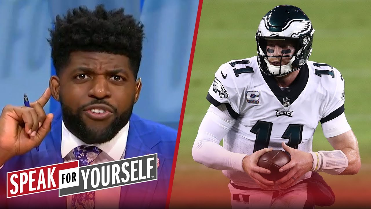 Wentz silenced his doubters, has Eagles in 1st place in NFC East — Acho | NFL | SPEAK FOR YOURSELF