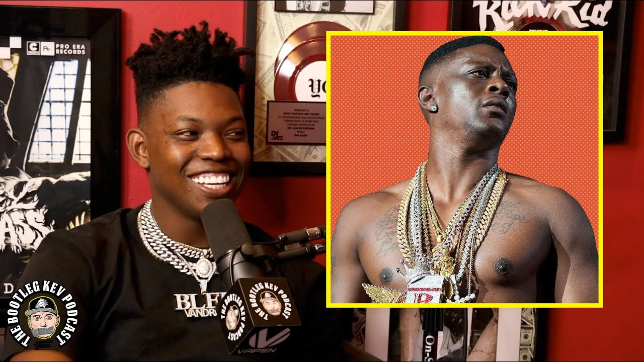 Yung Bleu on what he's learned from Boosie as an independent artist (The Bootleg Kev Podcast)