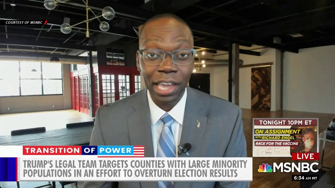 Black votes under attack! Trump tries to discredit & invalidate Black voters after massive turnout