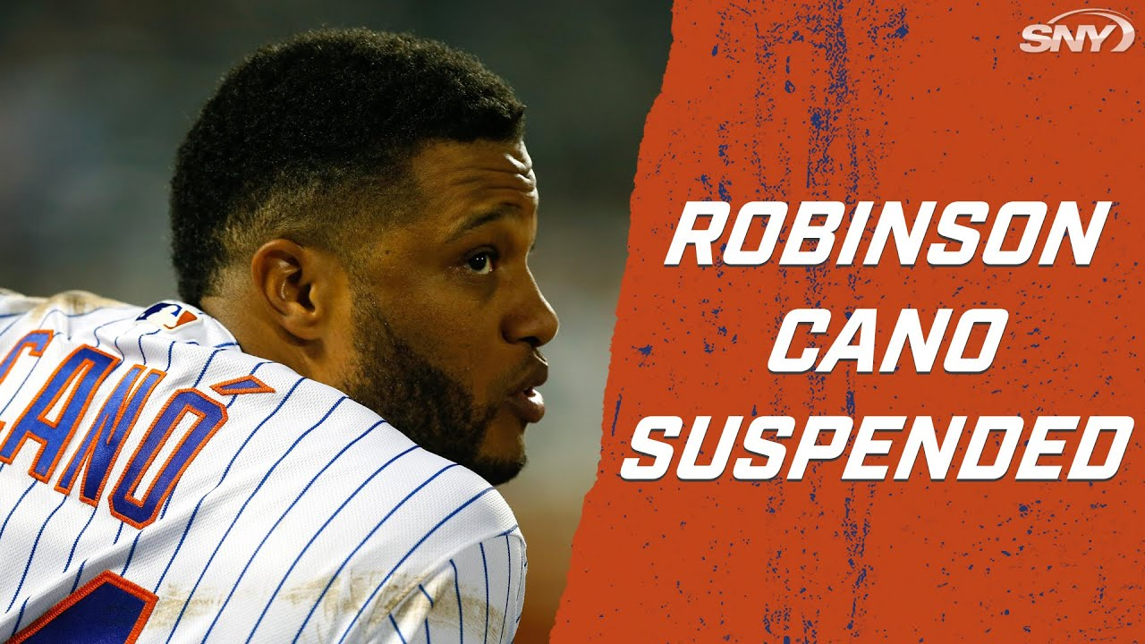 Breaking News: Robinson Cano Suspended | New York Mets | SNY