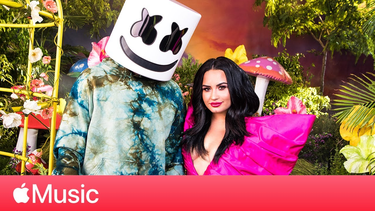 """Demi Lovato and Marshmello: """"OK Not To Be OK"""" and Prioritizing Mental Health   Apple Music"""