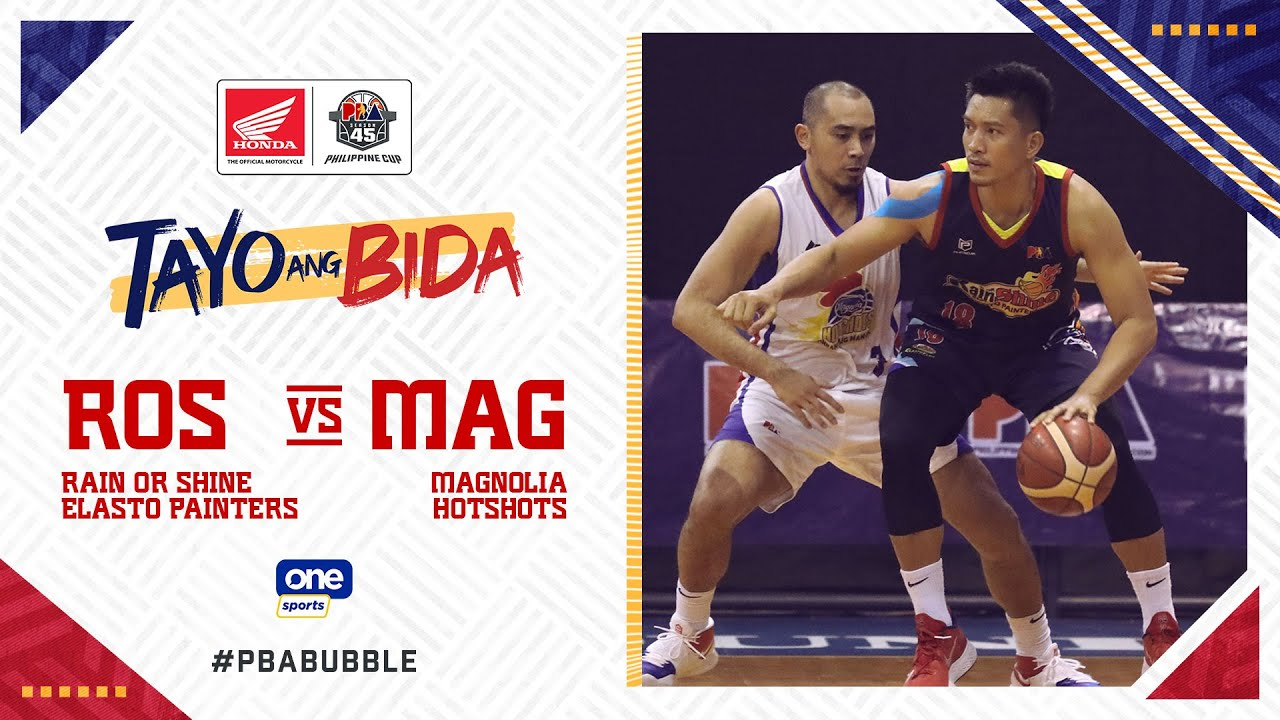 Full Game: Rain or Shine vs Magnolia | PBA Philippine Cup 2020