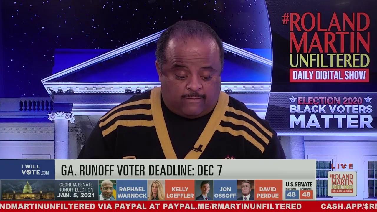 GA Runoffs; Dean out over Biden post, Black voters #1 issue_ racism; 3rd Breonna Taylor juror speaks