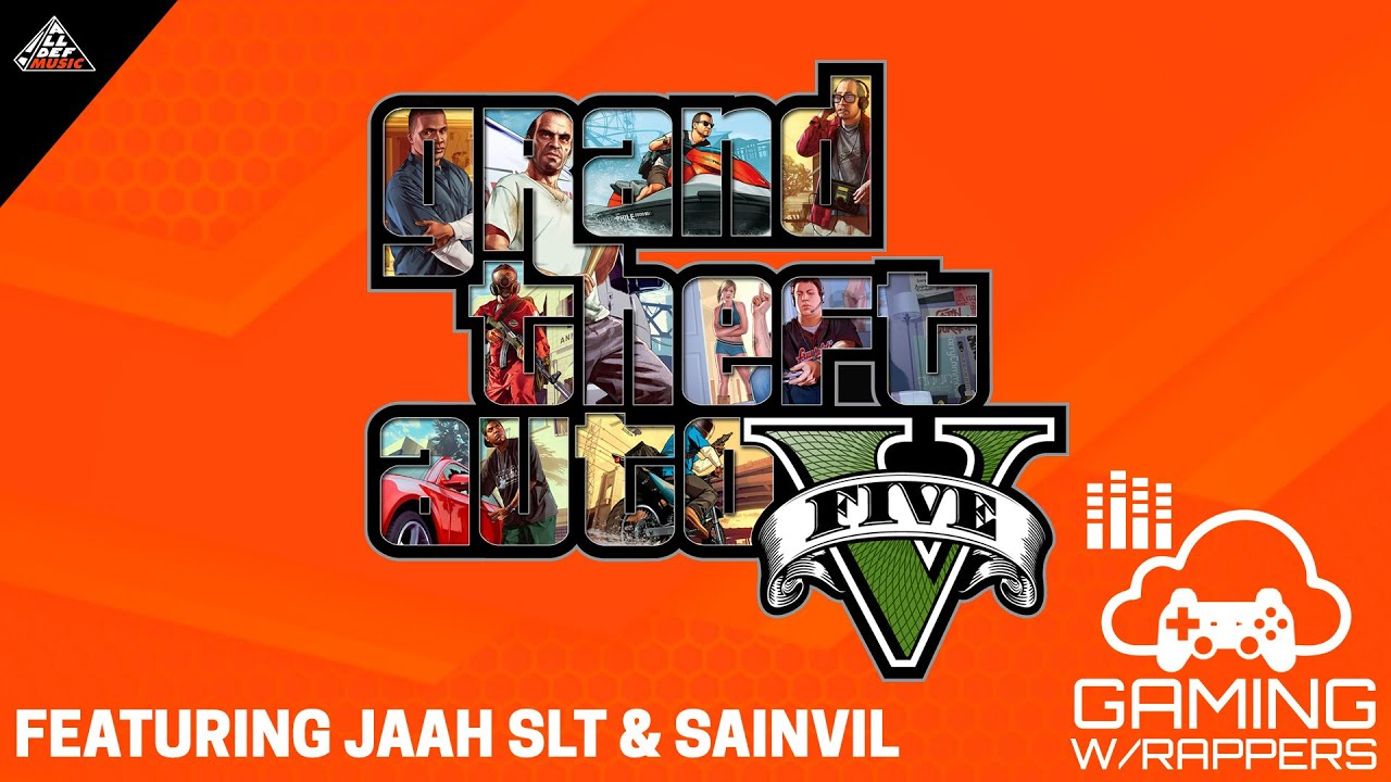 Gaming with Rappers   Grand Theft Auto V   Feat. Jaah SLT & Sainvil   All Def Music