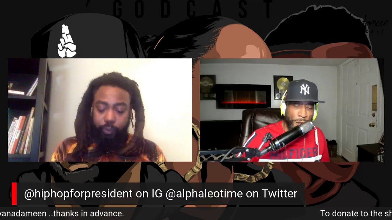 Godcast Episode 140: The Election Day Special with 2020 Presidential Candidate Deon D. Jenkins.