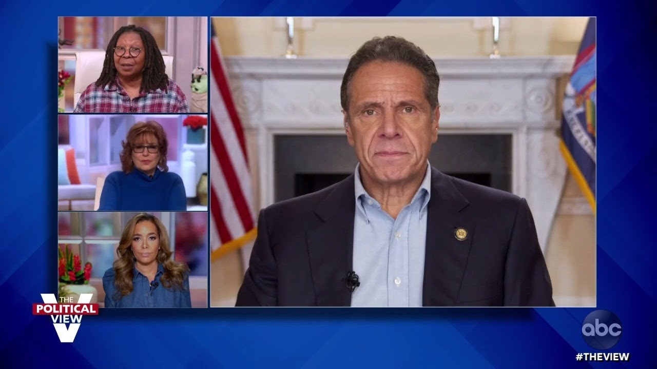 """Gov. Andrew Cuomo Confident Biden Will Win Election, """"Nervous"""" Over Post-Election Trump 