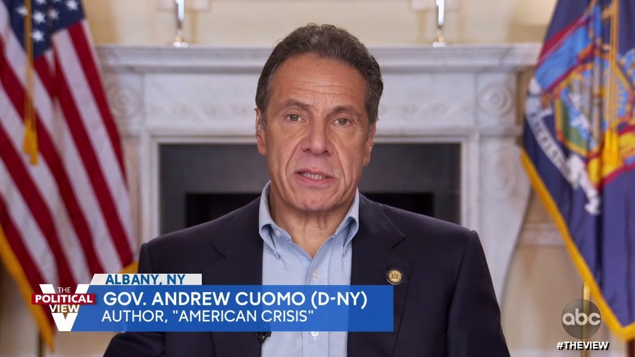"Gov. Andrew Cuomo Explains the Lessons America Needs to Know in Book ""American Crisis"" 