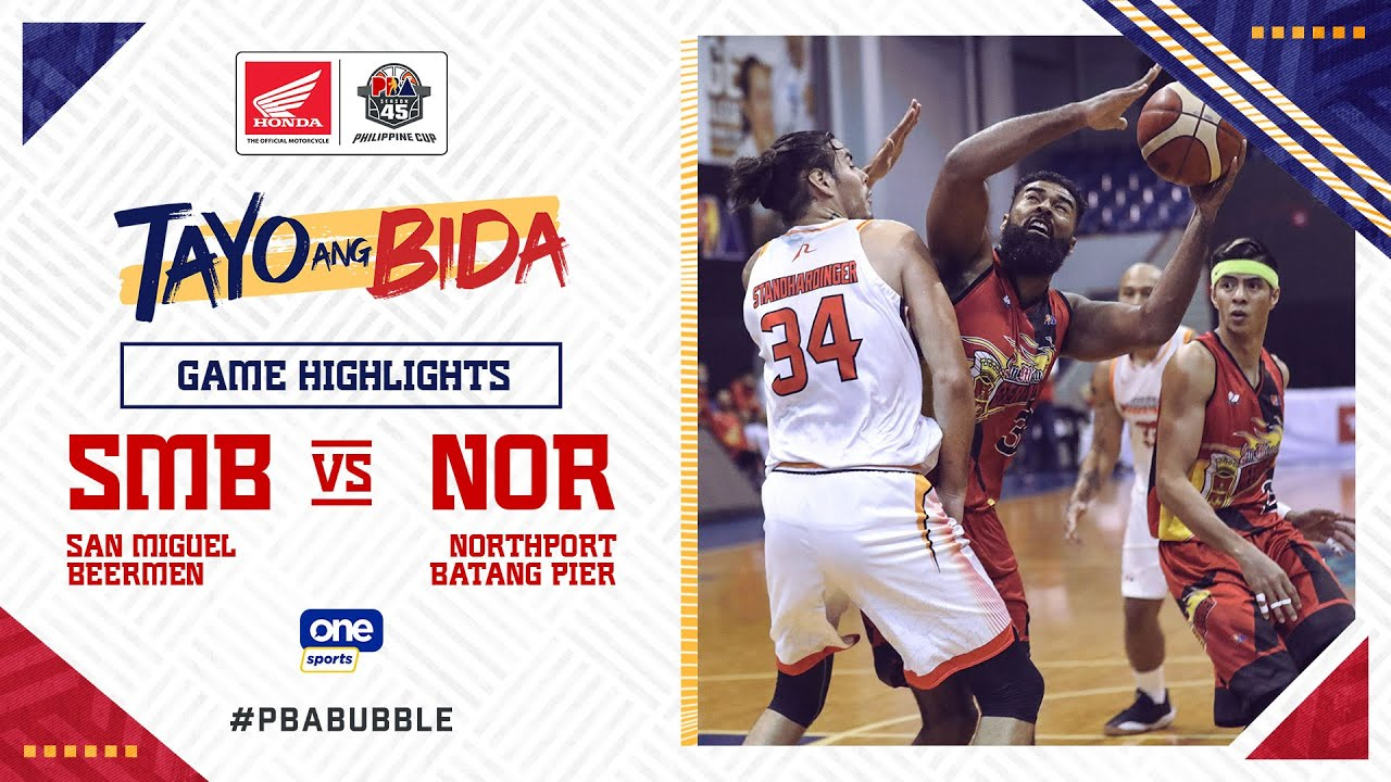 Highlights: San Miguel vs NorthPort | PBA Philippine Cup 2020