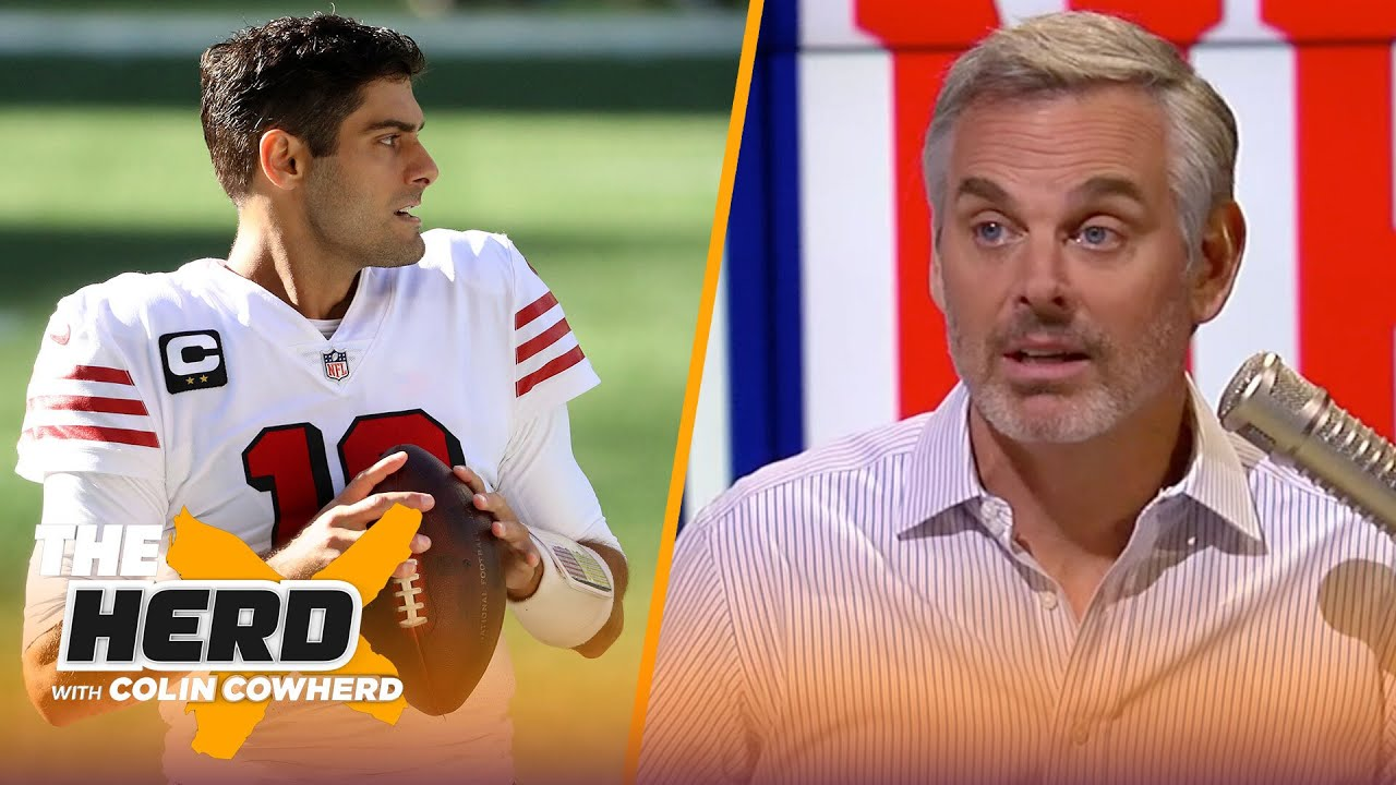 Jimmy G is done in San Francisco, talks Giants Week 8 loss to Bucs — Colin Cowherd   NFL   THE HERD
