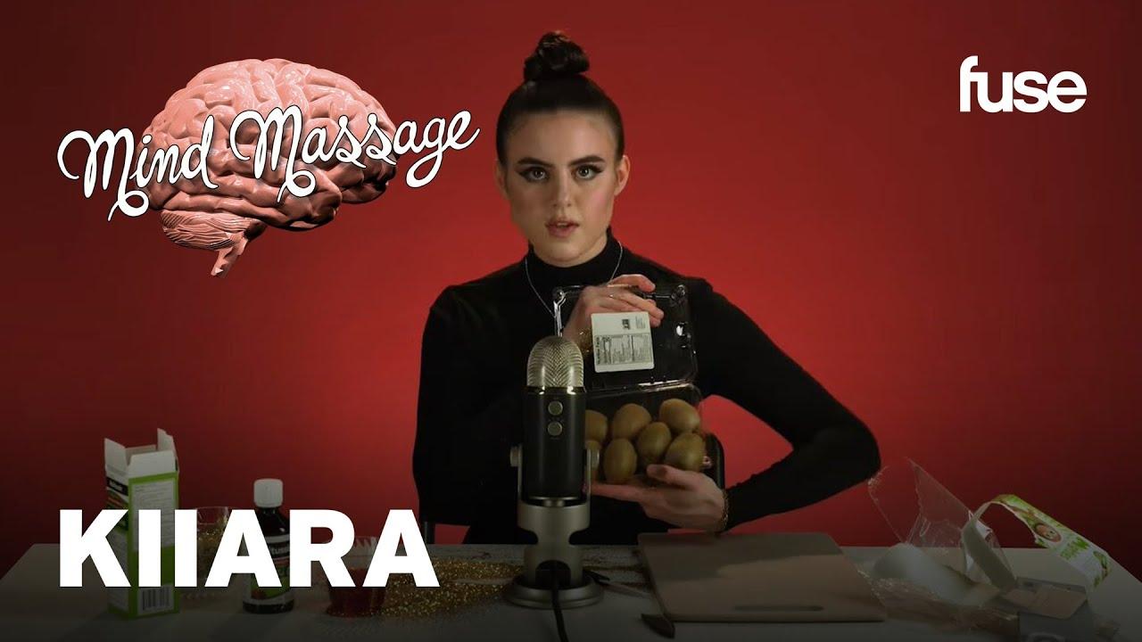 "Kiiara Does ASMR with Gold Glitter, Talks ""So Sick"" & Music Process | Mind Massage | Fuse"