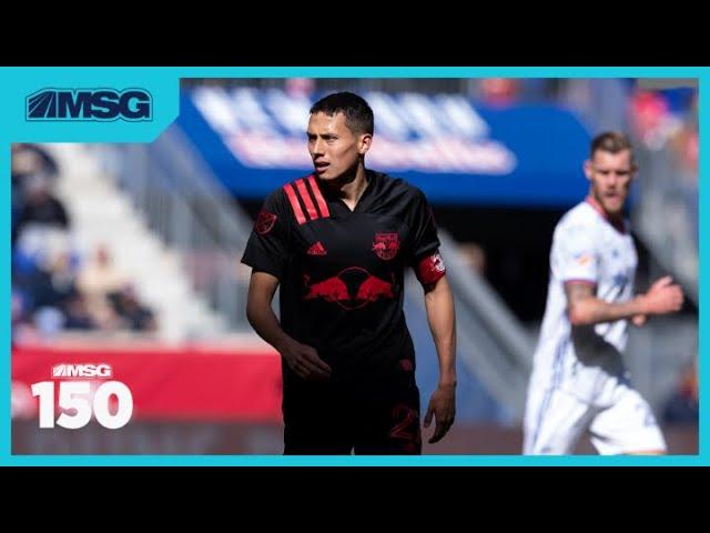 Red Bulls Coach Chris Armas Talks Return of MLS and New Team Captain Sean Davis   MSG 150