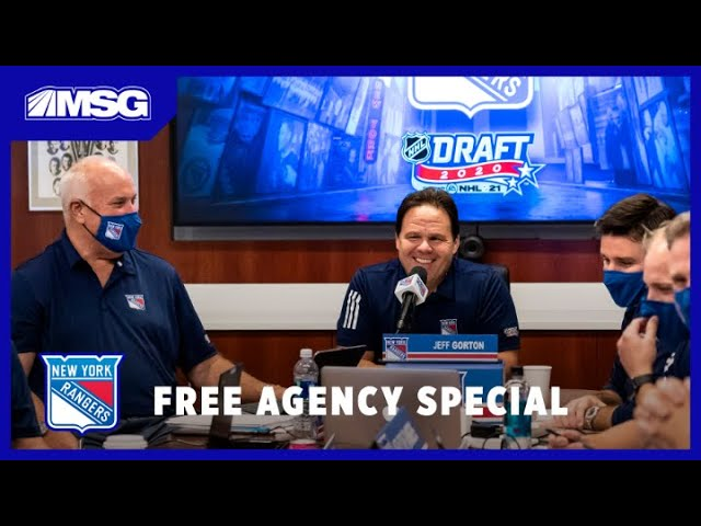 Reviewing the Rangers' Draft & Their Needs in Free Agency   New York Rangers