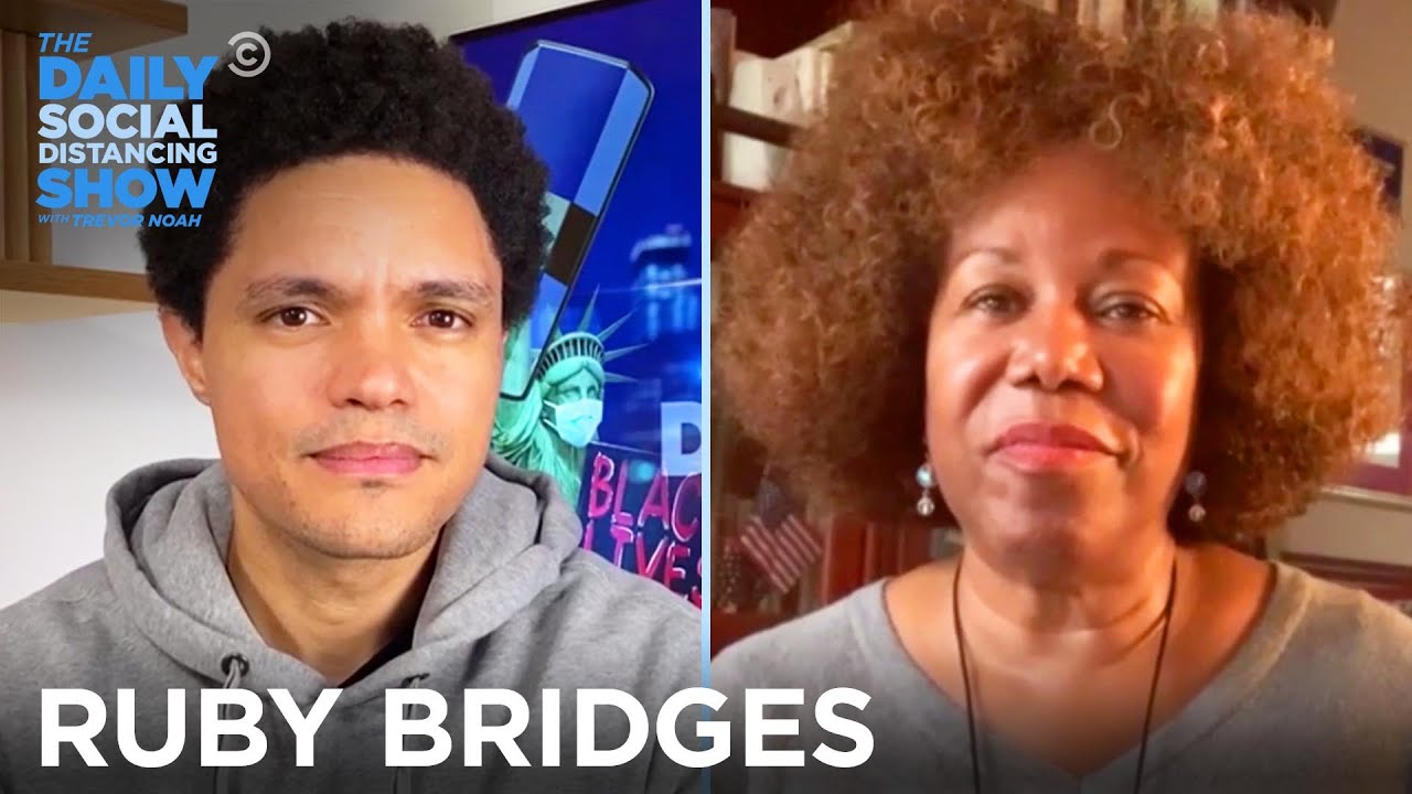 Ruby Bridges - Trailblazing as a Child in the Jim Crow South   The Daily Social Distancing Show
