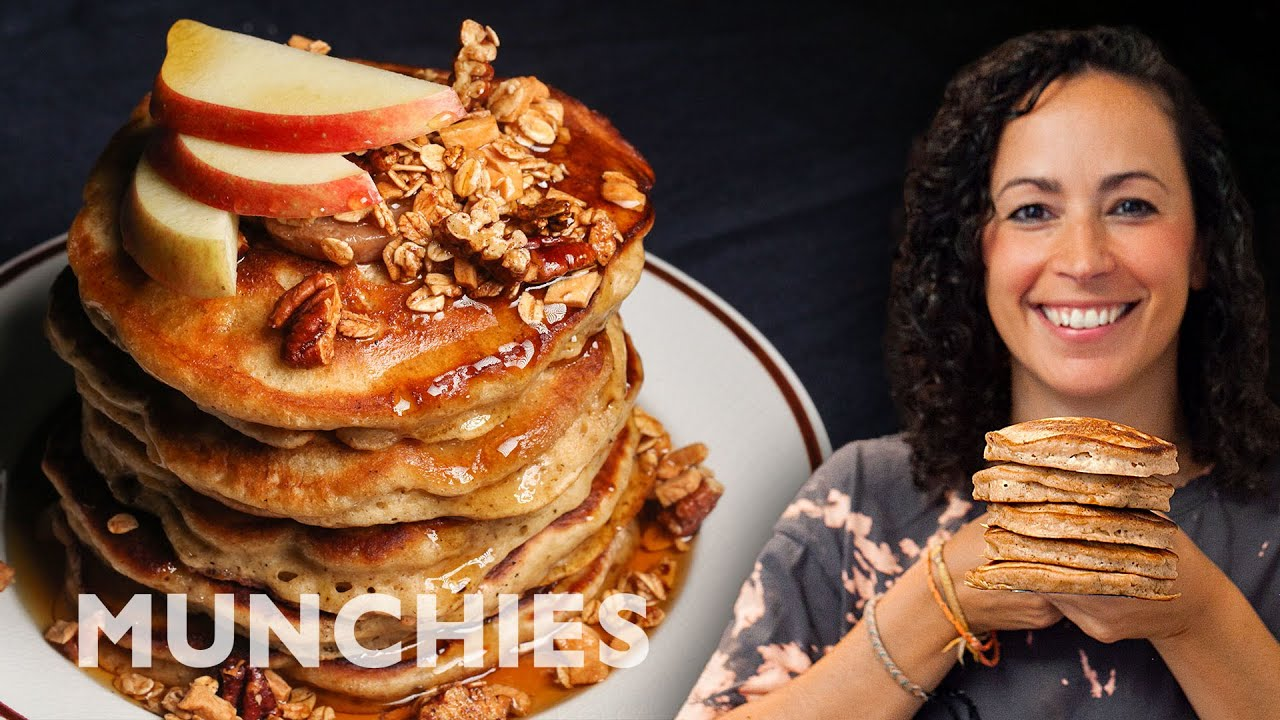 Spiced Apple Pancakes - The Cooking Show