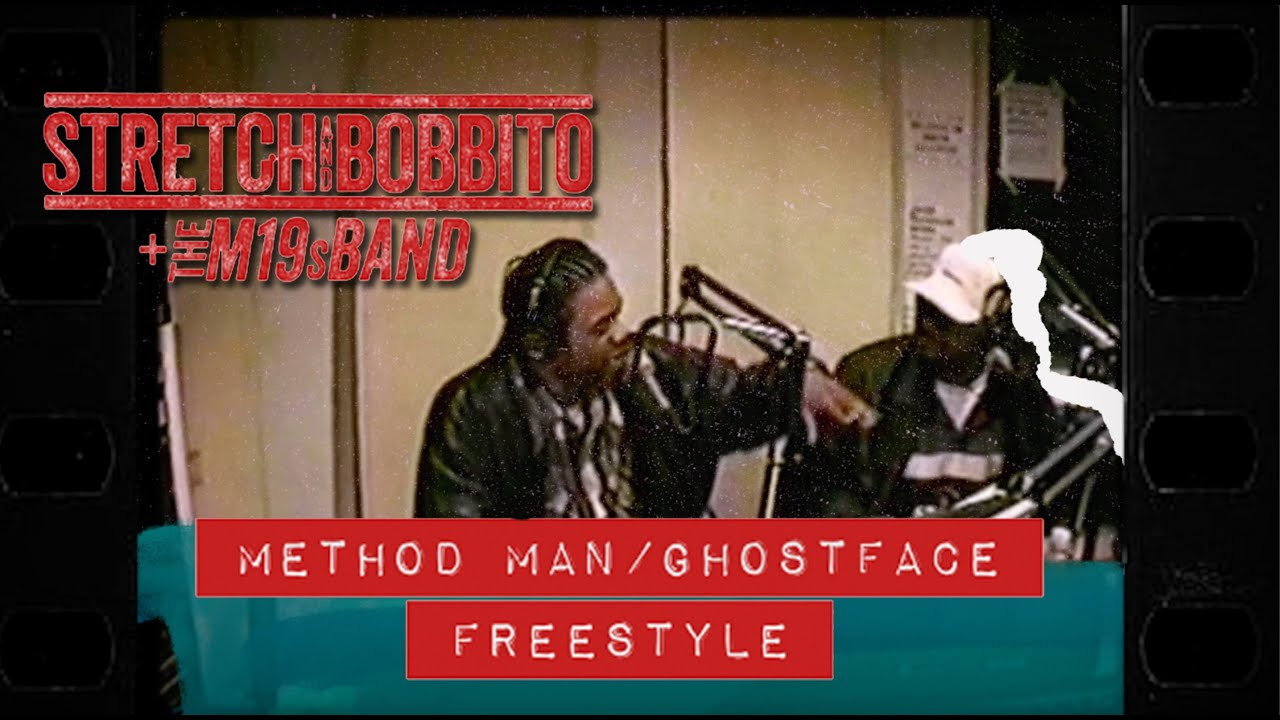 Stretch and Bobbito - Method Man + Ghostface Freestyle (The M19s Band Remix) [Official Music Video]