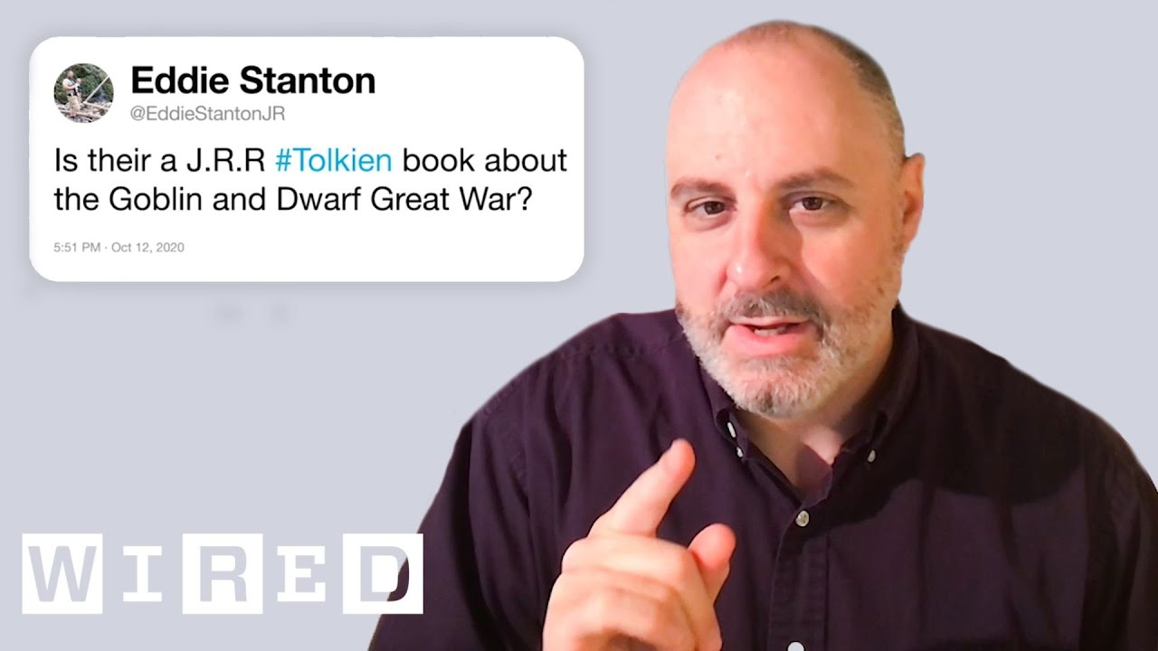 The Lord of the Rings Expert Answers Tolkien Questions From Twitter   Tech Support   WIRED