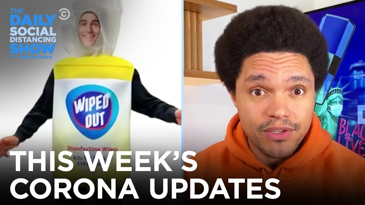 This Week's Coronavirus Updates - Week Of 10/26/2020 | The Daily Social Distancing Show