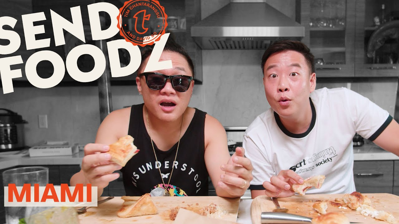 Tim and David Get a Mouthful of Miami   Send Foodz