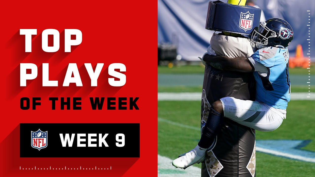 Top Plays from Week 9   NFL 2020 Highlights