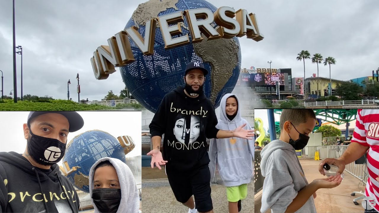 Universal Studios Orlando Social Distancing Mask Wearing Experience | Nephew's 1st Time!