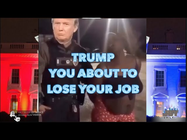 White House Crowd Chants 'You About to Lose Your Job' to Donald Trump After Biden Harris Victory