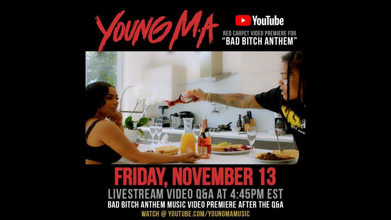 "Young M.A Live Q&A + ""Bad Bitch Anthem"" Music Video Premiere"