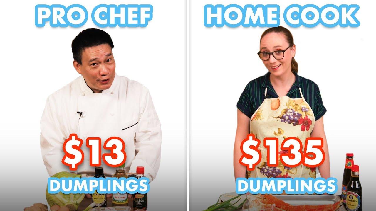 $135 vs $13 Dumplings: Pro Chef & Home Cook Swap Ingredients | Epicurious