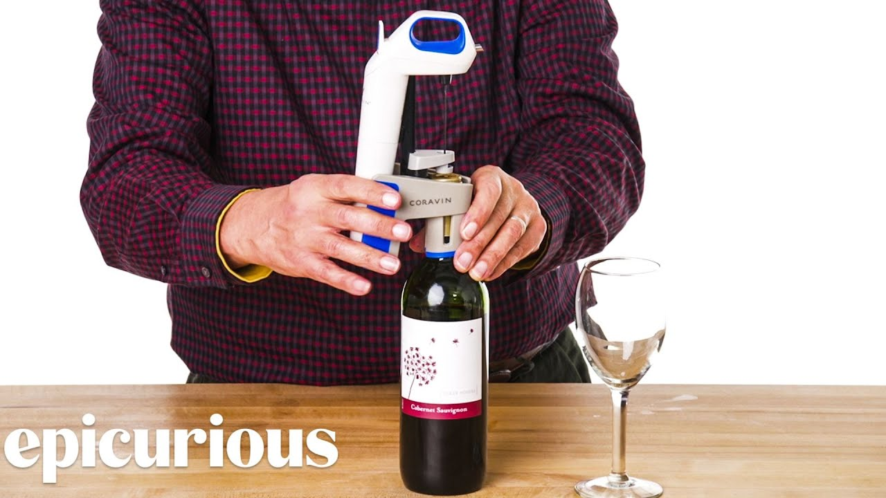 5 Wine Opening Gadgets Improved By Design Expert   Well Equipped   Epicurious