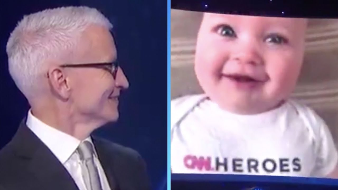 Anderson Cooper's Adorable Son Wyatt Makes SURPRISE Cameo During 'CNN Heroes'