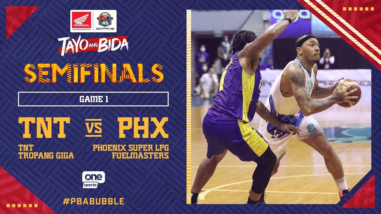 Full Game 1: TNT vs Phoenix | PBA Philippine Cup 2020 Semifinals