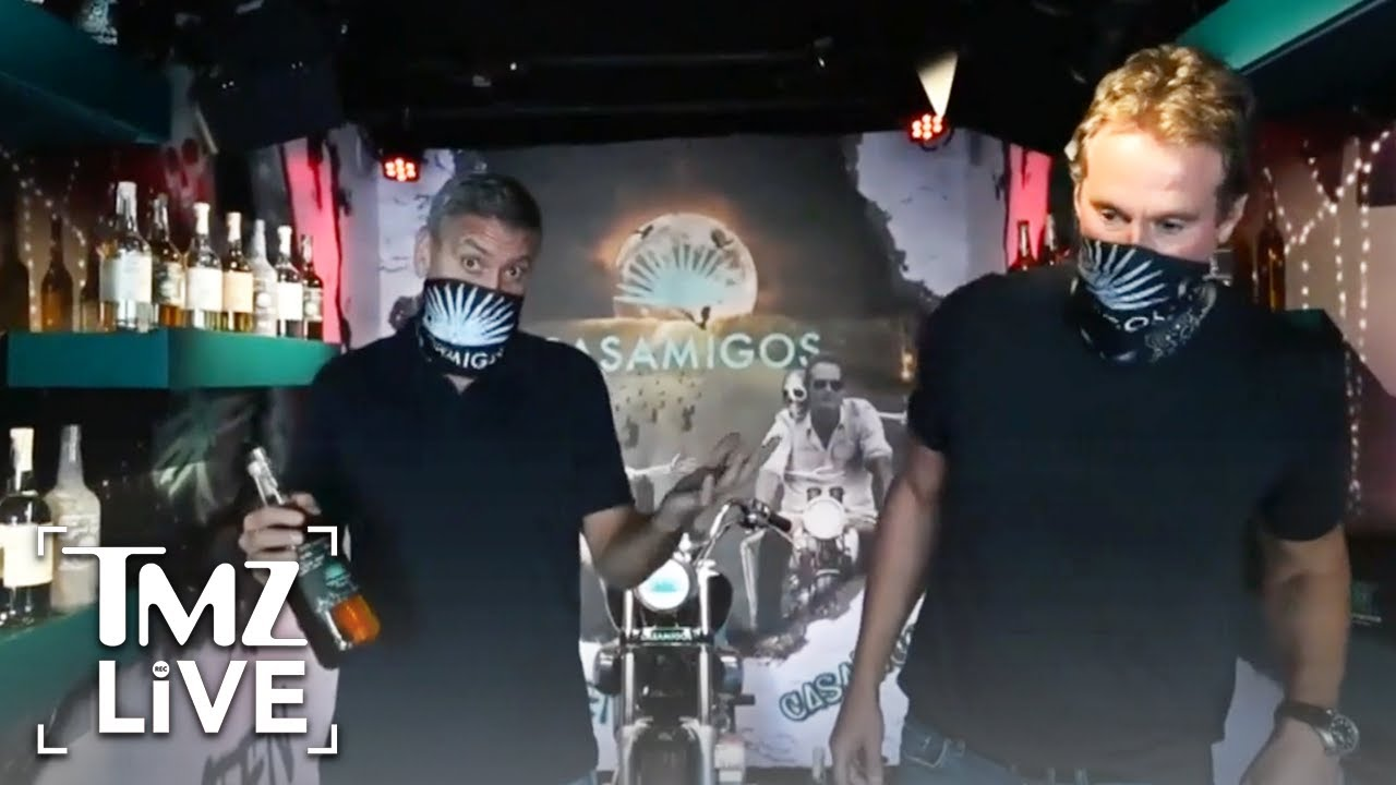 George Clooney, Rande Gerber Bringing Halloween Spirit to Celebs & Fans | TMZ Live