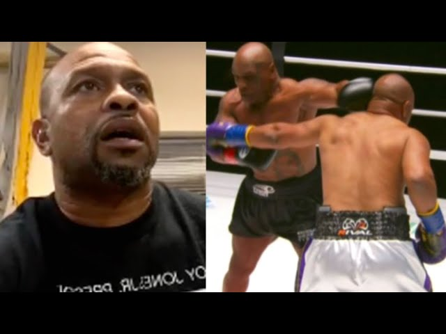 """""""I Risked My Life To Fight Mike!"""" Roy Jones Jr 1st Interview After Mike Tyson Boxing Match"""