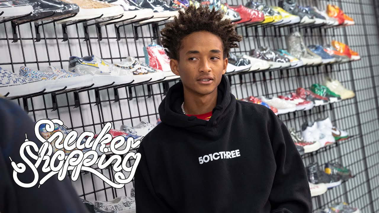 Jaden Smith Goes Sneaker Shopping With Complex