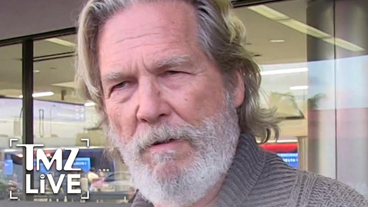 Jeff Bridges Says He's Diagnosed With Lymphoma, Getting Treatment   TMZ Live