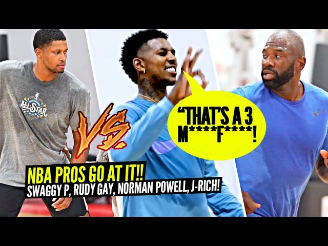Nick Young STILL GOT IT!! NBA Pros GO AT IT In PRIVATE NBA RUNS In Las Vegas!!