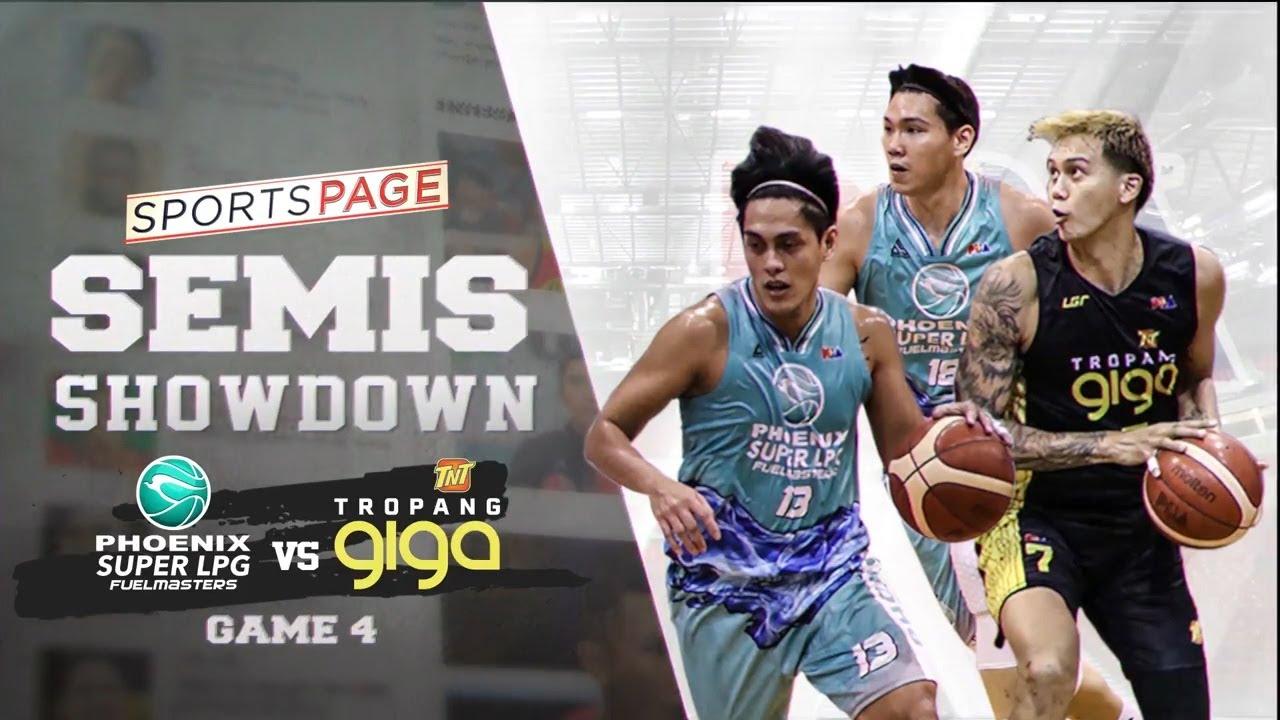 Semis showdown: Phoenix vs TNT Game 4   Sports Page