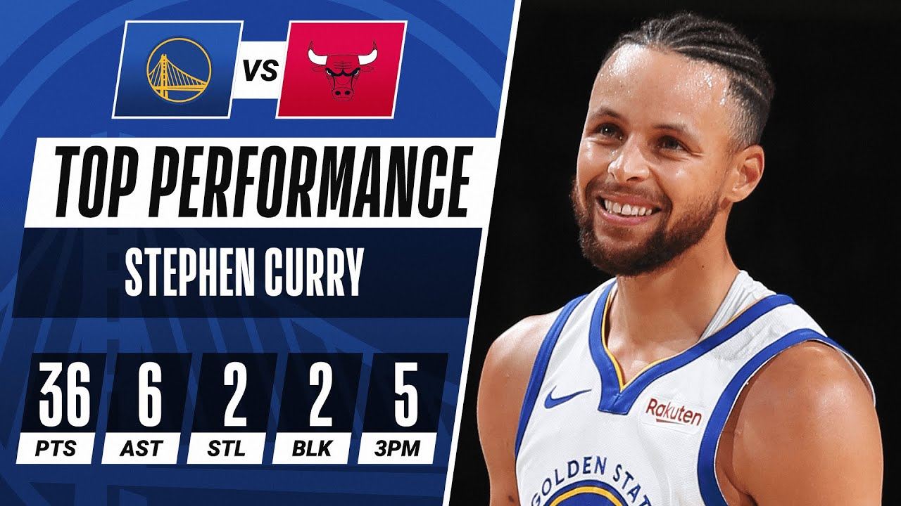 Stephen Curry Does It All For Warriors On The Road 💪